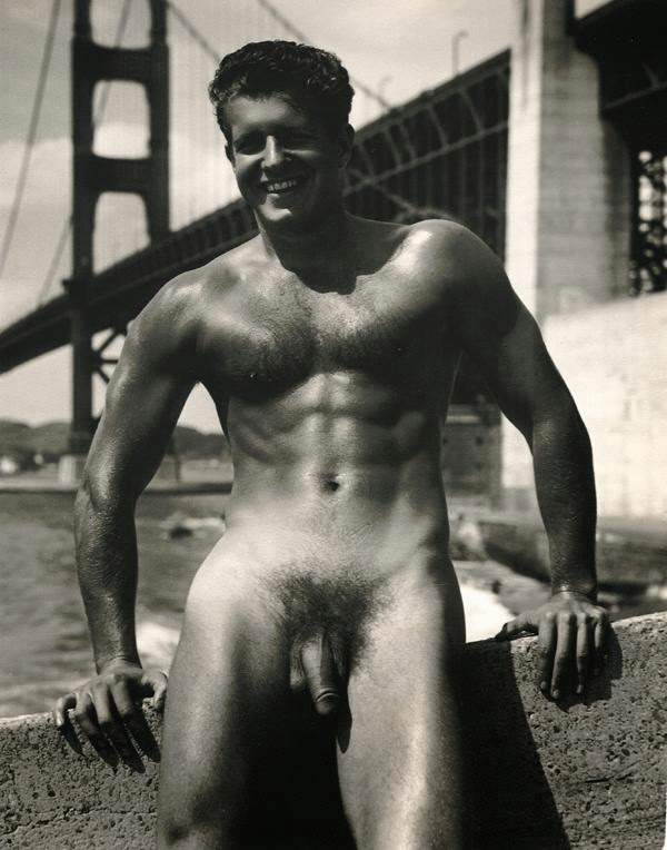 Naked in San Francisco in the 1950s